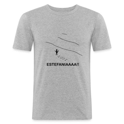 Estefania - Camiseta ajustada hombre