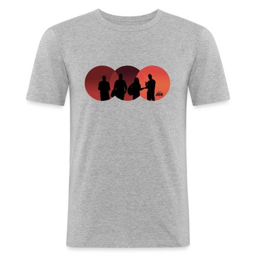 Motiv Cheerio Joe redish - Männer Slim Fit T-Shirt