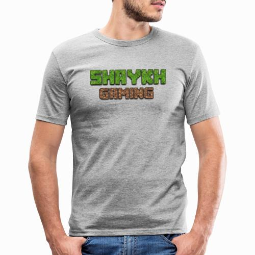 Shaykh Gaming Merch - Men's Slim Fit T-Shirt
