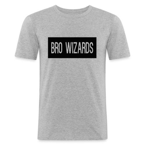 Browizardshoodie - Men's Slim Fit T-Shirt