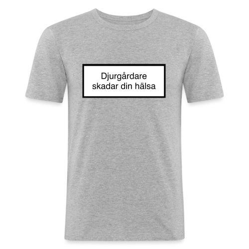 Djurgården Varningstext - Slim Fit T-shirt herr