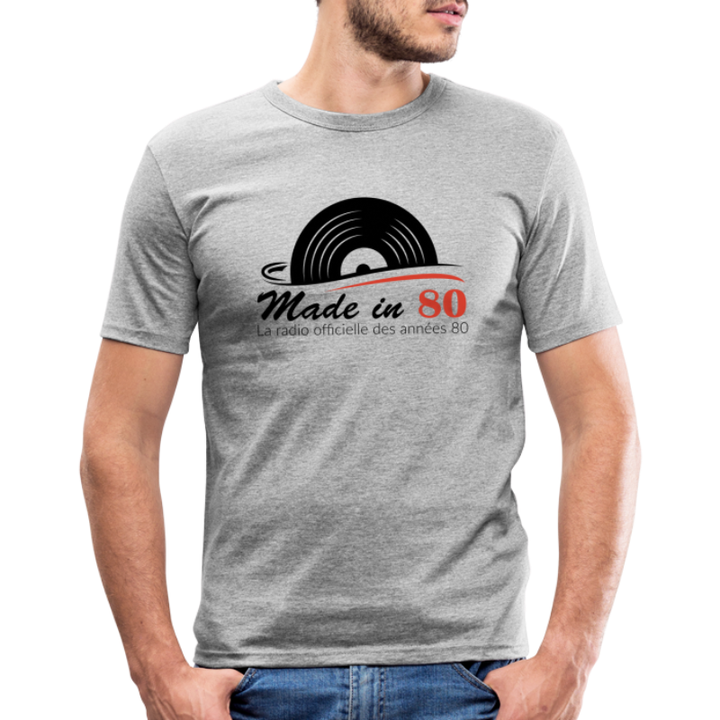 Made in 80 - T-shirt près du corps Homme