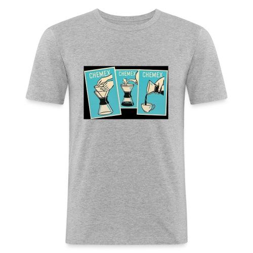 Chemex_06 - Slim Fit T-skjorte for menn