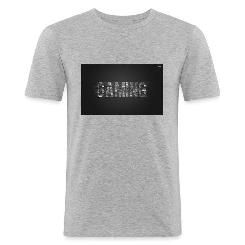 gaming pet - Mannen slim fit T-shirt