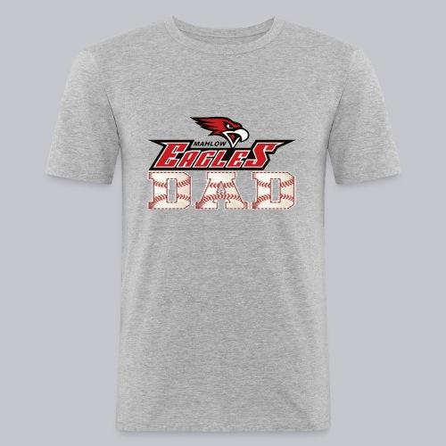 Baseball DAD - Männer Slim Fit T-Shirt