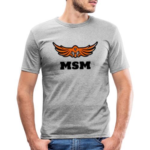 MSM EAGLE - Herre Slim Fit T-Shirt