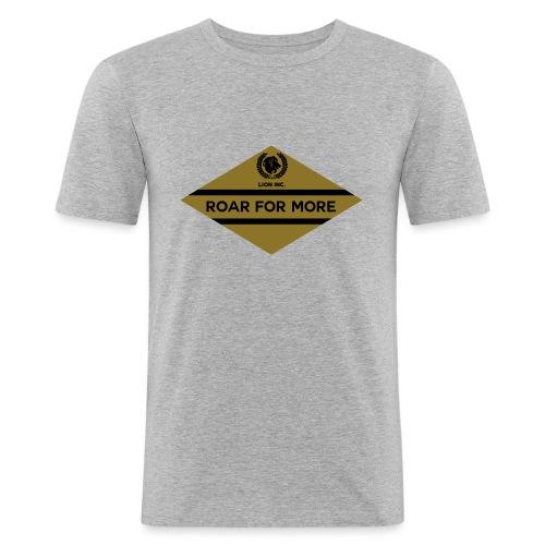 Lion Inc. - Mannen slim fit T-shirt