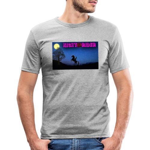 nightrider merch - Herre Slim Fit T-Shirt