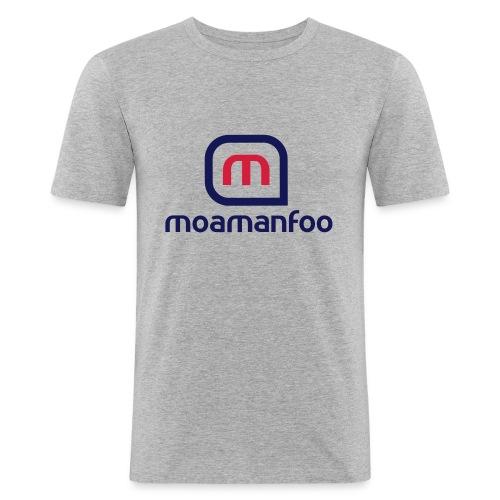 Moamanfoo - T-shirt près du corps Homme