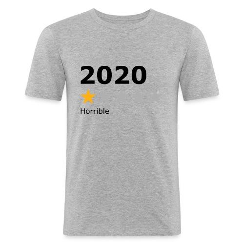 2020 horrible - T-shirt près du corps Homme