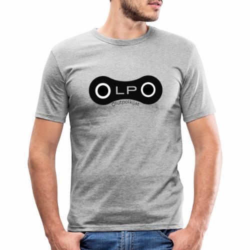 OLPO - Miesten tyköistuva t-paita