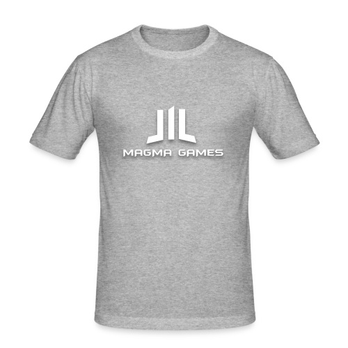 Magma Games t-shirt - Mannen slim fit T-shirt