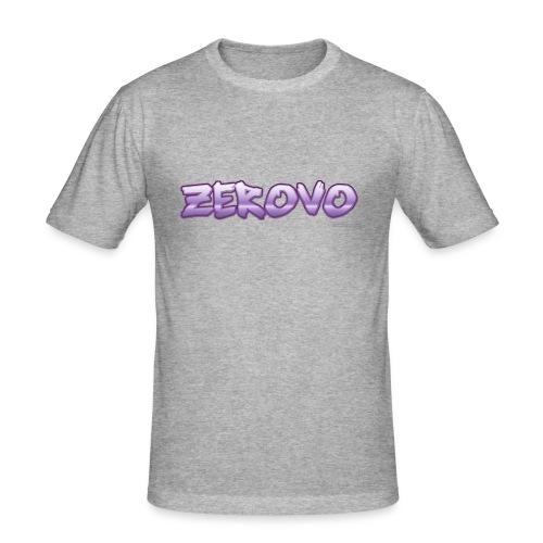 zerovomerchandise - Mannen slim fit T-shirt