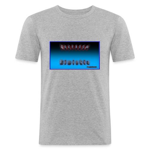 Iscrazzo_riminkia - Maglietta aderente da uomo