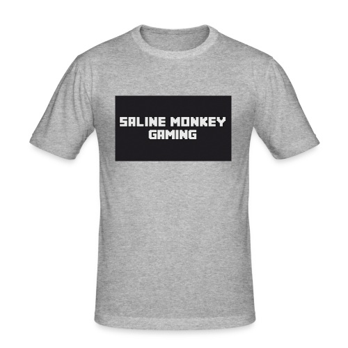 Saline monkey gaming tröja - Slim Fit T-shirt herr