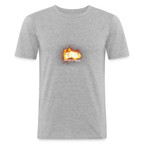 gewoongregory - Mannen slim fit T-shirt