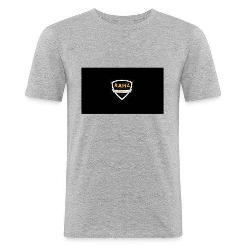 kahz_clan - Mannen slim fit T-shirt