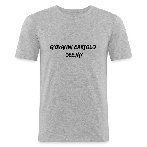 Giovanni Bartolo DJ - Maglietta aderente da uomo