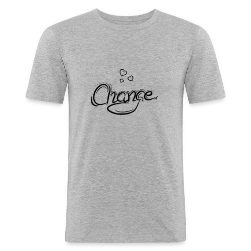 Änderung der Merch - Männer Slim Fit T-Shirt