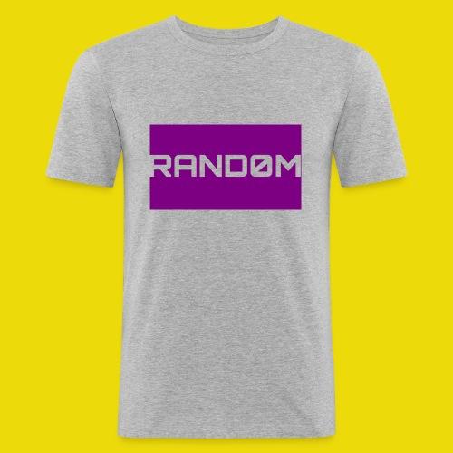 Random Logo - Men's Slim Fit T-Shirt