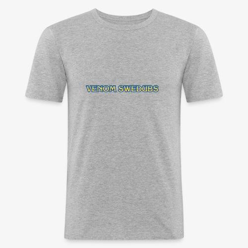 VenomSwedubs - Logga Capcom - Slim Fit T-shirt herr