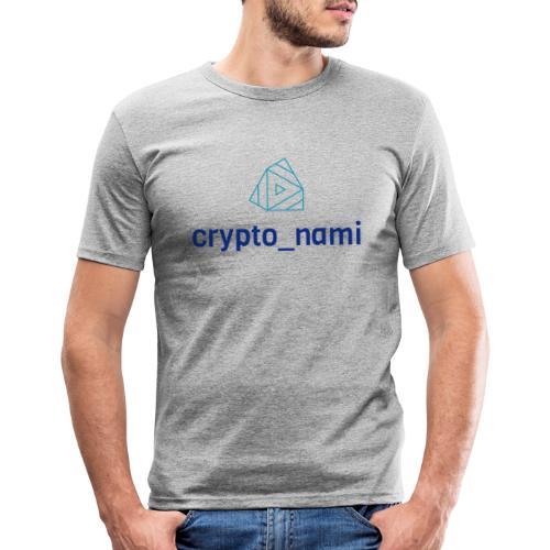 crypto_nami - Men's Slim Fit T-Shirt