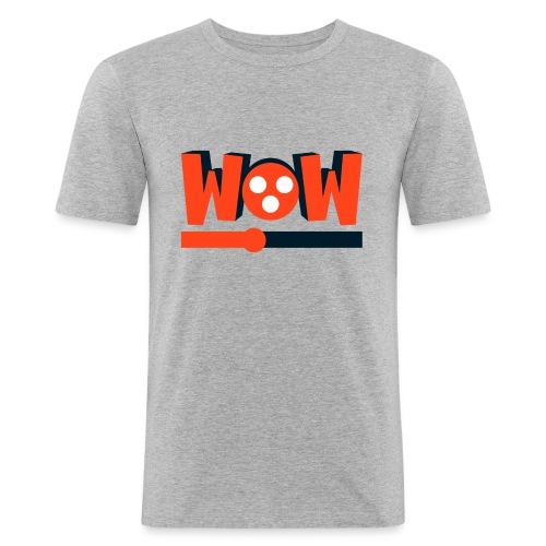 wowmovies - Camiseta ajustada hombre