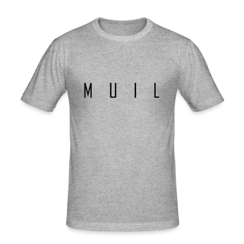 muil - Mannen slim fit T-shirt