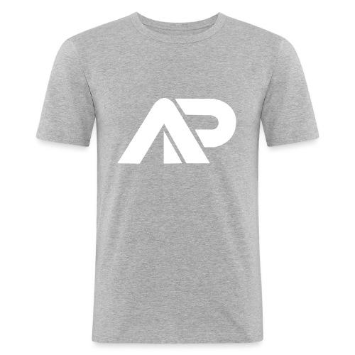 APGP Hvid - Herre Slim Fit T-Shirt