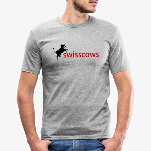 Swisscows - Männer Slim Fit T-Shirt