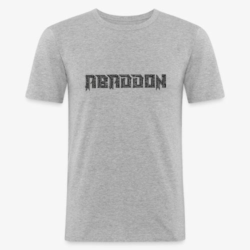 abaddon transform - Mannen slim fit T-shirt