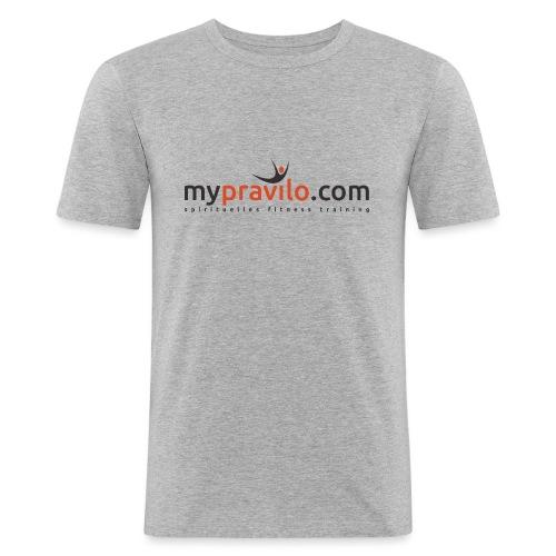 myPRAVILO.com - Männer Slim Fit T-Shirt