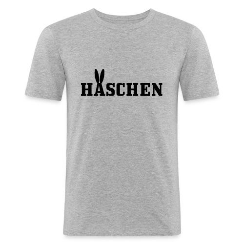 Häschen mit Öhrchen - Männer Slim Fit T-Shirt