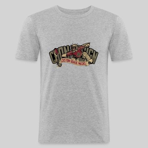 CoonDesign - Logo II - Männer Slim Fit T-Shirt