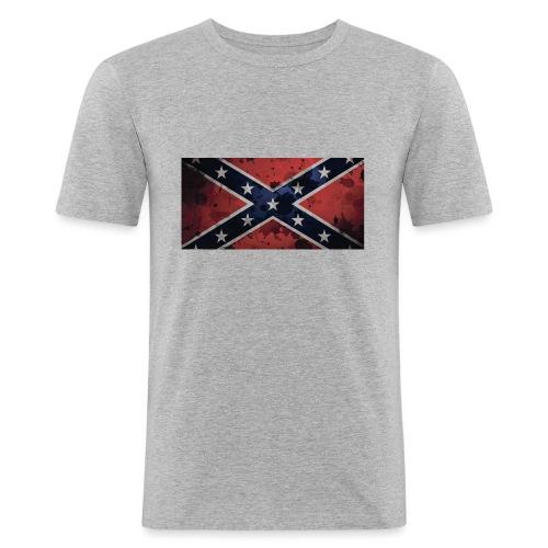 rebell - Slim Fit T-skjorte for menn