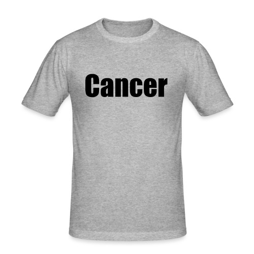 Cancer. - Men's Slim Fit T-Shirt