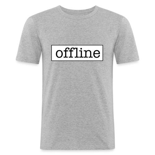 Officially offline - Mannen slim fit T-shirt