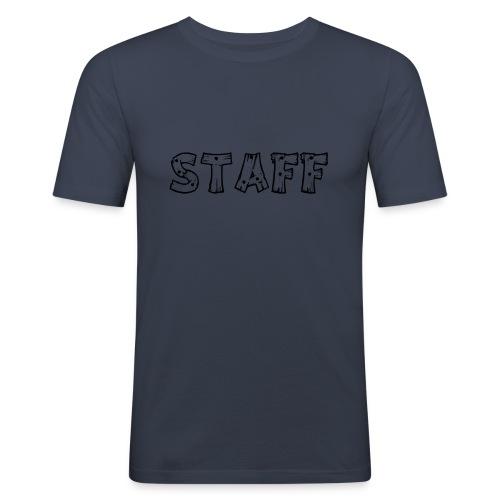 STAFF - Maglietta aderente da uomo