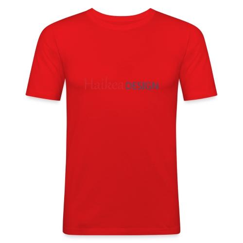 haikea logo - Miesten tyköistuva t-paita