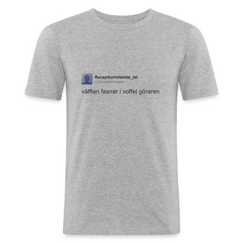 Voffel goraren - Slim Fit T-shirt herr