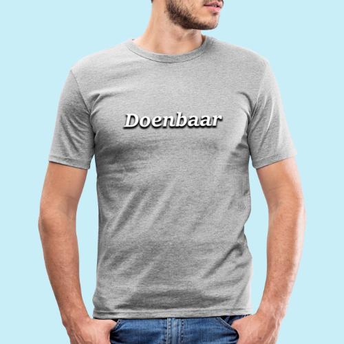 doenbaar - T-shirt près du corps Homme