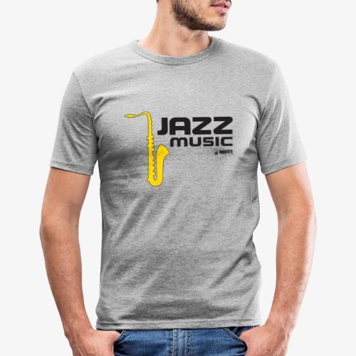 Jazz 002 - Camiseta ajustada hombre