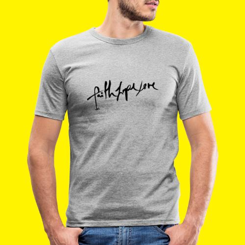 Faith Hope Love - Men's Slim Fit T-Shirt
