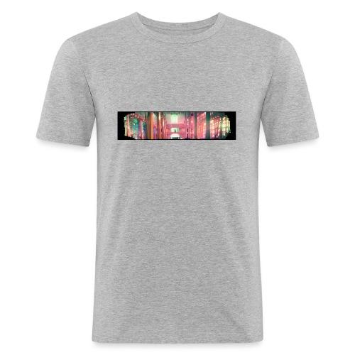 chiesaspreadshirt - Maglietta aderente da uomo