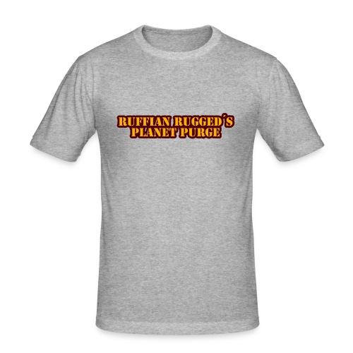 Ruffian Rugged aka Def Ill - MerchPlanet Purge - Männer Slim Fit T-Shirt