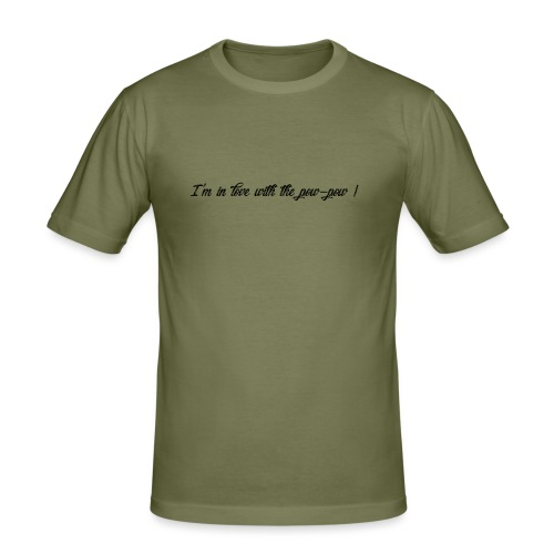 Pow-pow - T-shirt près du corps Homme