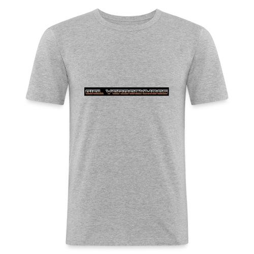 gielverberckmoes shirt - Mannen slim fit T-shirt
