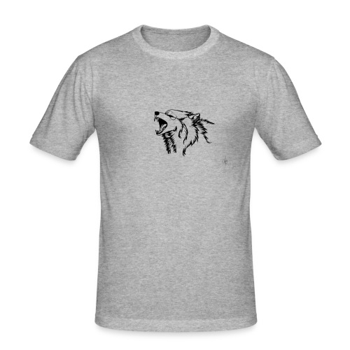 wolf - Slim Fit T-shirt herr