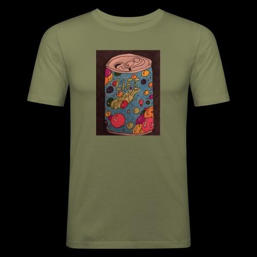 7AABC614 53CA 4156 B765 D9FBF5B8E496 - Herre Slim Fit T-Shirt