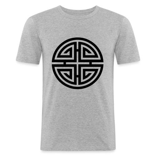 Four blessings, Chinesischer Glücksbringer, Segen - Männer Slim Fit T-Shirt